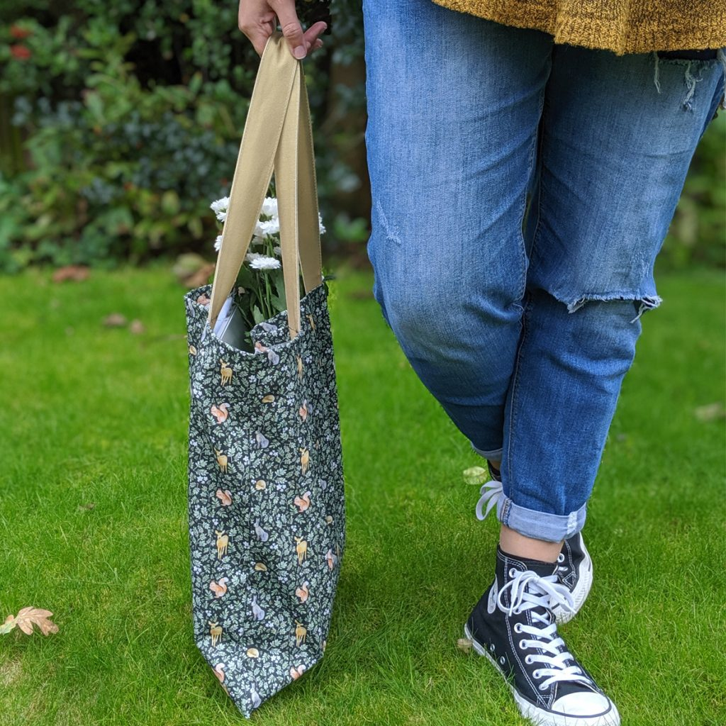 A Plastic Bag Alternative. Introducing my new Woodland Tote Bag